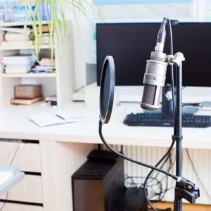 Micrófono para grabar sesiones de rap en casa